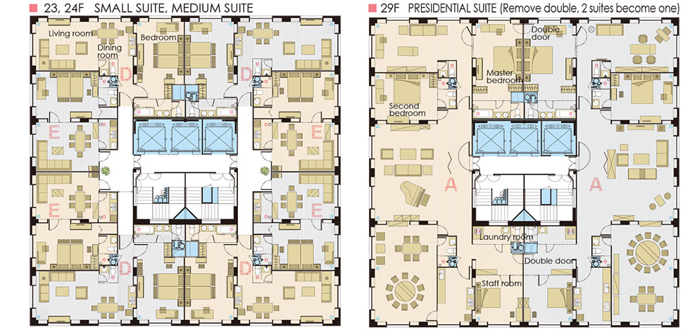 Apartment Layout Diagram